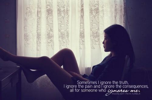 Đôi khi, tình yêu là chuyện của một người.